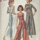 SIMPLICITY PATTERN 7023--MISSES' ONE-PIECE JUMPSUIT & OVERBLOUSE--SIZE  16/BUST 36