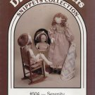 """DREAM SPINNERS SNIPPETS COLLECTION--#504--SERENITY--27"""" DOLL--UNCUT PATTERN"""