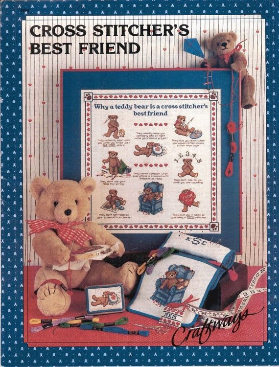 CROSS STITCHER'S BEST FRIEND By SANDY ORTON