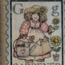 "Gardener Postage Rubber Stamp--1"" X 1 1/4""--Hero Arts A1226"