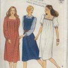 Butterick Pattern 4201--Misses'/Misses' Petite Dress & Jumper--Size 12