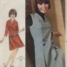 BUTTERICK PATTERN 3668-1960's ONE-PIECE DRESS OR JUMPER--SIZE 16T/BUST 36