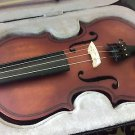 PREMIUM GRADE EUROPEAN 1/4 VIOLIN FOR CHILDREN w SHOULDER REST, MINT CONDITION