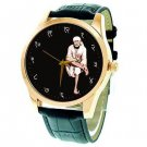 RARE SHRI SAI BABA OF SHIRDI ORIGINAL ANTIQUE PHOTO ART COLLECTIBLE WRIST WATCH