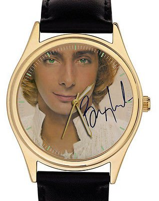 1990s VINTAGE BARRY MANILOW COLLECTIBLE COLLECTOR'S EDITION CLASSIC WRIST WATCH