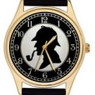 BEAUTIFUL SHERLOCK HOLMES SILHOUETTE ART PEARLOID DIAL SPECIAL EDITION WATCH