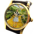 VINTAGE JUDY GARLAND WIZARD OF OZ YELLOW BRICK ROAD COLLECTIBLE RAINBOW WATCH