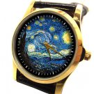 BEAUTIFUL VINCENT VAN GOGH STARRY NIGHTS LADIES' 30 mm IMPRESSIONIST ART WATCH