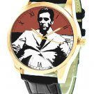 THE GODFATHER: CLASSIC HOLLYWOOD ART AL PACINO CRIMSON BLOOD RED WRIST WATCH