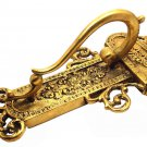 DOOR HANDLES. ORIGINAL FRENCH BELLE EPOQUE PAIR OF 11-inch DOOR PULLS