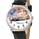 FANTASTIC USAAF WW-II PINUP AVIATION ART CLASSIC  P-47 THUNDERBOLT WRIST WATCH