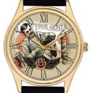 BARBER SHOP SALON COIFFEUR RETRO ART COLLECTIBLE VINTAGE ART WRIST WATCH
