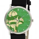 Vintage Space Green Buzz Lightyear Toy Story Art 30 mm Unisex Collectible Watch
