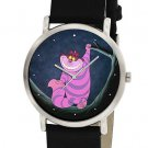 RARE HOLLYWOOD ART ALICE IN WONDERLAND CHESHIRE CAT COLLECTIBLE WRIST WATCH