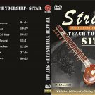 TEACH YOURSELF SITAR. VOLUME 1 AND VOLUME 2. COMPREHENSIVE DVD TUTOR. USA SHIP