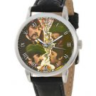 THE BEATLES WHITE ALBUM ERA  COLLECTIBLE HIPPE YOGI ART BEATLEMANIA WRIST WATCH