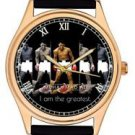 "MUHAMMAD ALI ""THE GREATEST"" CLASSIC COMMEMORATIVE ANDY WARHOLESQUE WRIST WATCH"