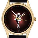 MICHAEL JACKSON KING OF POP EYE-CATCHING ANTICHRIST POSE SYMBOLIC WRIST WATCH