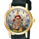 VINTAGE LOVELY ANTIQUE COLORS JULIE ANDREWS SOUND OF MUSIC COLLECTIBLE WATCH