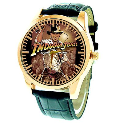 RARE COLLECTORS PIECE, INDIANA JONES & THE TEMPLE OF DOOM 40 mm WRIST WATCH