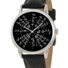 MATHEMATICS MATHS RADIAN CIRCLE TRIGONOMETRY PI ART WRIST WATCH, CLEAR DETAILS