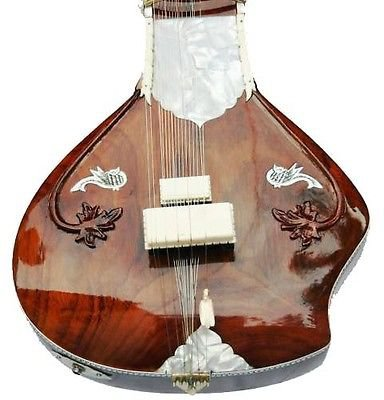 CLASSIC CUT-AWAY ROSEWOOD INDIAN ACOUSTIC ELECTRIC FUSION RESONATOR SITAR GUITAR