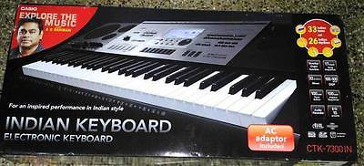 CASIO CTK7300IN Keyboard, 2016 Specialized Indian Musical Instrument Keyboards