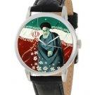 Vintage Ayatollah Khomeini Shia Islam Persian Iran Martyrdom Colors Wrist Watch