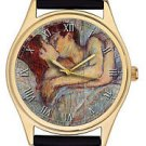 THE KISS, SEMINAL ARTWORK COLLECTIBLE HENRI TOULOUSE-LAUTREC FRENCH WRIST WATCH