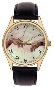 THE HAND OF GOD, Symbolic Michaelangelo Sistine Chapel Renaissance Art  Watch