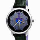 MASONIC DAGGER FIRST DEGREE SYMBOLIC ART COLLECTIBLE 40 mm FREEMASONRY WATCH