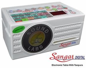 SANGAT ELECTRONIC TANPURA & TABLE MACHINE COMBINE 124 TAAL 1 YEAR WARRANTY M