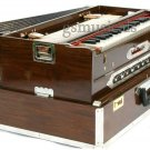 HARMONIUM 9 SCALE CHANGER TEAK WOOD 3 SET PORTABLE TRAVELLER MODEL GSM048 CA