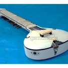 SITAR FUSION  STUDIO ELECTRIC  CORAL WITH FIBERGLASS CASE GSM036