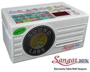 SANGAT ELECTRONIC TABLA & TANPURA MACHINE COMBINE 124 TAAL 1 YEAR WARRANTY  CA