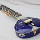 SITAR FUSION ELECTRIC STUDIO SITAR TRAVEL WITH FIBREGLASS CASE GSM033 CA