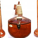 SITAR HAND CARVED HEMRAJ BACK WITH FIBREGLASS CASE STANDARD GSM006