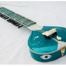 SITAR ELECTRIC STUDIO FUSION CORAL TRAVEL WITH GIG BAG GSM034