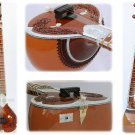 SITAR NECKLACE DESIGNE WITH FIBERGLASS CASE SITAR GSM010GS#