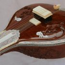 SITAR CARVING FUSION ELECTRIC SITAR WITH FIBREGLASS CASE GSM017 CA