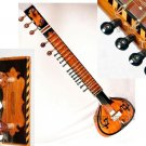 SITAR TAJ STANDARD BEAUTIFULLY DESIGNED WITH FIBERGLASS CASE GSM008GS#