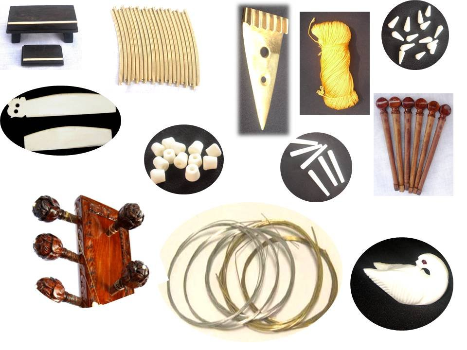 SITAR SET OF ALL ACCESSORIE COMPLETE PROFFESIONAL QUALITY GSMA012 CA