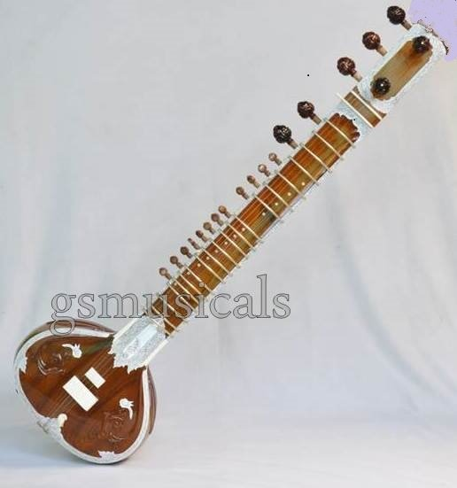SITAR ROYAL HEMRAJ TEAKWOOD WITH FIBERGLASS CASE STANDARD GSM059 CA