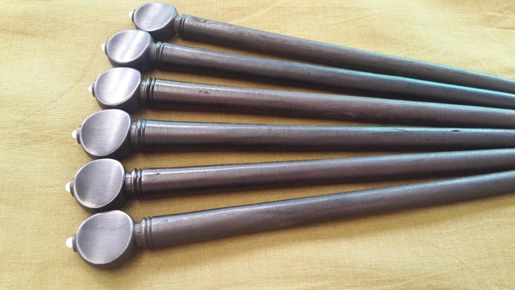 SURBAHAR TARAF PEGS MADE OF EBONY 13 PIECES GSMA032