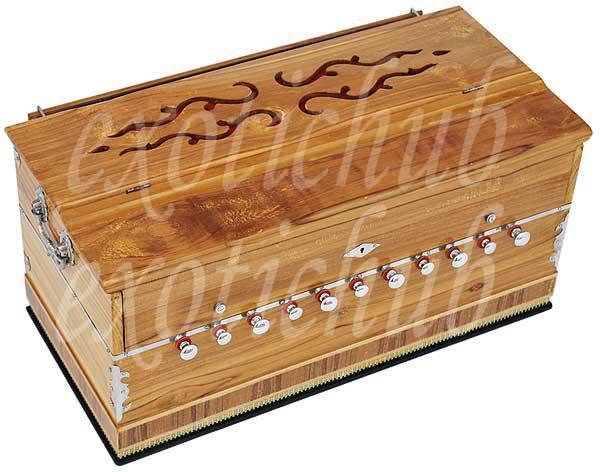 HARMONIUM BY KAAYNA MUSICALS~TEAK WOOD~11 STOPS~440 Hz~YOGA~MEDITATION~BHAJAN~DJ