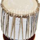 DHAMA SET~COPPER DRUMS 4 KG~SHEESHAM WOOD TABLA~SIKH JORI~PAKHAWAJ JODI~DHOLAK