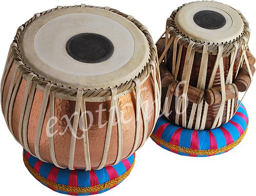 SPECIAL CONCERT QUALITY COPPER TABLA DRUM~5KG BAYAN~CAN PLAY WITH SITAR, TANPURA