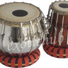 TABLA DRUMS SET~BOLT TUNED~HEAVY BRASS~SHESHAM WOOD DAYAN~EASY TUNING~BEST SOUND
