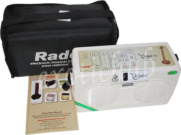 ELECTRONIC TANPURA~RADEL RANJANI +5~TAMBORA~TAMBURA~TANPURI~3 YEAR WARRANTY