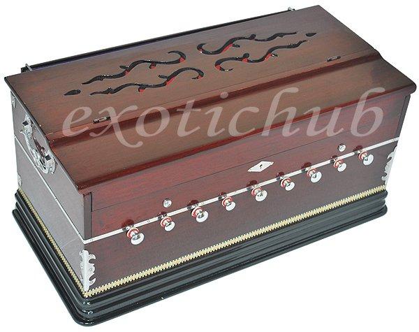 HARMONIUM~PROFESSIONAL GRADE~ 3½OCTAVE~9 STOP~4 SHRUTI-440 Hz~YOGA~MANTRA~KIRTAN